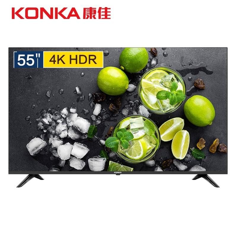 KONKA 康佳 LED55P7 55英寸 4K 液晶电视