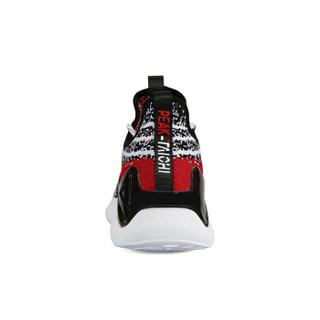 匹克(PEAK)态极跑鞋男女鞋轻便跑步鞋减震运动鞋情侣自适应科技 E91617H 白花灰 42