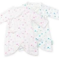 PurCotton 全棉时代 婴儿纱布连体衣 1件装