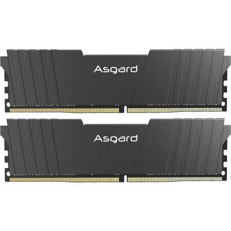 Asgard 阿斯加特 洛极T2 16GB(8GBx2)DDR4 3200频率 台式机内存条
