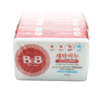 88VIP : B&B 保宁 婴儿洗衣皂 洋槐香洗衣皂200g 3个装 *3件