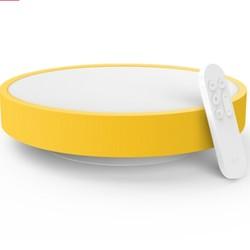 Yeelight 儿童智能LED吸顶灯 青春版 黄色 *2件