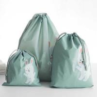 Yom 莜牧 束口收纳袋 防水抽绳整理袋 3件套 *2件