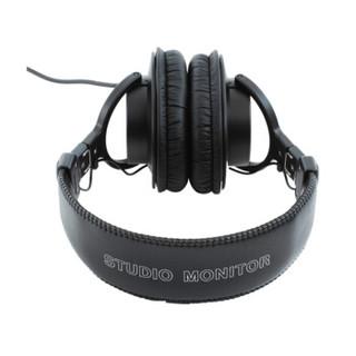 SONY 索尼 MDR-7506 头戴式监听耳机 黑色