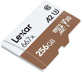 Lexar 雷克沙 667x 存储卡 (256G、90MB/s)