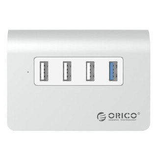 ORICO 奥睿科 USB3.0分线器 (银色)