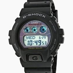 再降价 : CASIO 卡西欧 G-Shock系列 GW-6900-1 中性款电波表