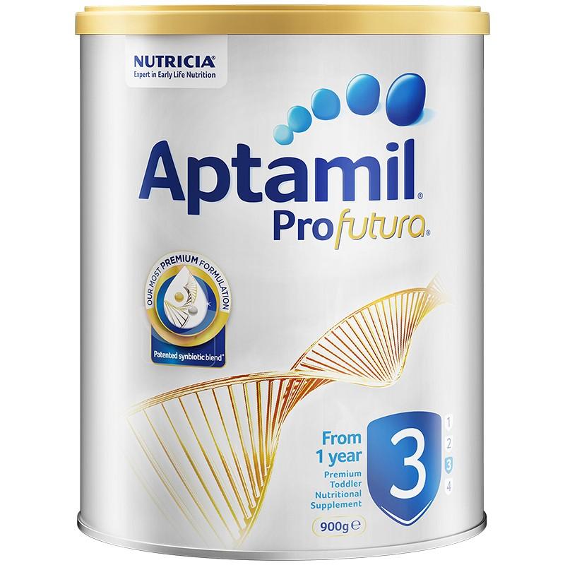 Aptamil 爱他美 白金系列 幼儿配方奶粉 3段 900g(12-36个月)澳洲版