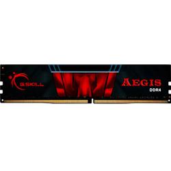 芝奇(G.SKILL) AEGIS系列 DDR4 2666 16G 台式机内存(黑红色)