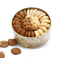 Congmingxiaoxiong 聪明小熊 休闲零食品糕点精致礼盒 (640g、什锦味、盒装)