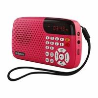 乐廷 T301 FM调频收音机 时尚版 2色可选