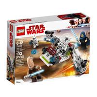 LEGO 乐高  75206 星球大战系列 STAR WARS积木拼搭 绝地武士和克隆士兵战斗包