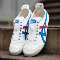Onitsuka Tiger 鬼冢虎 MEXICO66  SLIPON  D3K0N-0143 运动休闲鞋 (36 、白色/湖蓝色)