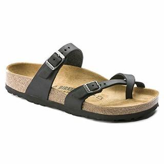 历史低价 : Birkenstock Classic Mayari Birko-Flor 中性款凉鞋