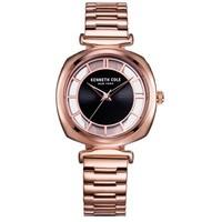 凯尼斯克尔(Kenneth Cole)手表 女个性透视女士手表简约钢带女表防水腕表女KC15108001