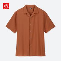 优衣库 UNIQLO 414582 男装 开领衬衫(短袖)