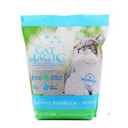 CatMagic 喵洁客 膨润土猫砂 有香型 14磅 *4件