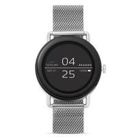 Skagen 诗格恩 手表 时尚欧美智能触屏腕表 男士时装腕表 简约潮流 银色米兰表带 SKT5000