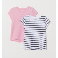 H&M 女童针织衫 2件装