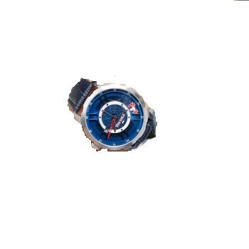 迪士尼漫威(MARVEL)手表男生潮流街头腕表时尚蜘蛛侠机械表皮质防水手表玫瑰金 M-6004SLL-1