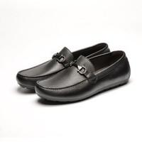 考拉工厂店 男士一脚蹬休闲懒人鞋