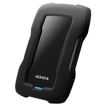 ADATA 威刚 HD330 移动硬盘 (黑色、2TB)