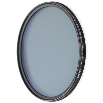 NiSi 耐司 MC CPL 72mm 单反偏光镜 双面多膜