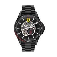 法拉利 Ferrari 手表欧美商务表男士自动机芯钢表带防水腕表  0830602