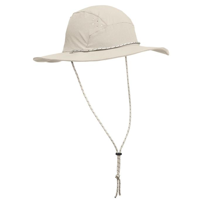 DECATHLON 迪卡侬 男士户外防晒帽 (浅灰色)