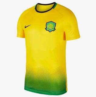 北京中赫国安 Nike Dri-FIT Academy 男子短袖印花足球上衣