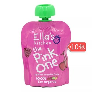 Ella's Kitchen 艾拉厨房 有机水果果泥 10包