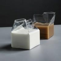 TINY HOME 牛奶盒玻璃杯 350ml