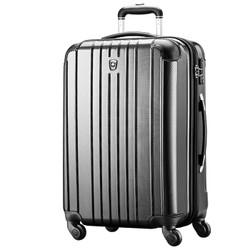 SWISSMOBILITY 瑞动 PC+ABS时尚轻盈 旅行拉杆箱 黑色 24英寸