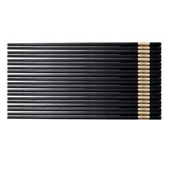 合金筷子不锈不发霉耐高温合金筷10双装 筷长27cm