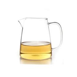 艾芳贝儿(AlfunBel)茶具高硼硅耐热玻璃公杯 公道杯 匀杯 分茶器 茶海 大号传统公杯(430ML)C-85-3-1