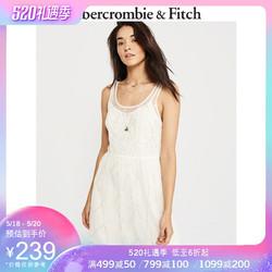 Abercrombie&Fitch  230927-300 AF 女装 装饰款闪耀连衣裙