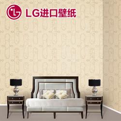 LG Hausys墙纸 环保欧式花纹壁纸 韩国原装进口 大卷10.6平 82154-2 一卷