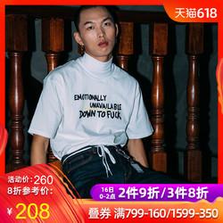 INNERSECT潮牌  EU x INNERSECT联名款 夏潮流短袖T恤男
