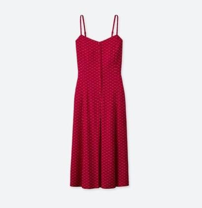 UNIQLO 优衣库 设计师合作款 417143 女士乔其纱吊带连衣裙