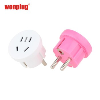wonplug 万浦 欧标德标转换插头 4.8E