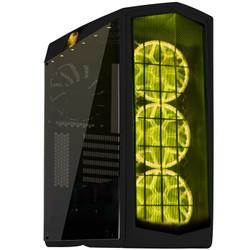 银欣(SilverStone) PM01-RGB锋驰1RBG 钢化玻璃测透ATX机箱/支持水冷 镜面黑RGB
