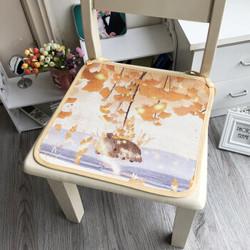 创意冰丝坐垫办公室电脑椅子垫 40*40cm