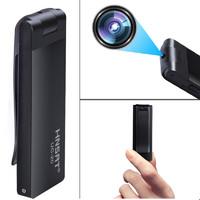 Hnsat/亨思特 UC20微型摄像机专业高清迷你录音笔无线录相摄影头90度旋转摄像头手机观看超长小型录像随身带