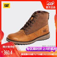 CAT卡特男鞋牛皮革织物男户外休闲靴P721791G3UDR18