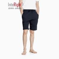 InteRight 男士毛圈家居短裤