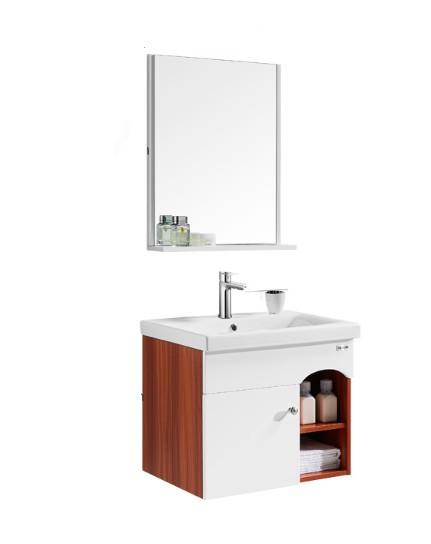 HUIDA 惠达 511-60 简约现代挂墙式浴室柜组合 60CM单孔盆
