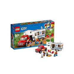 LEGO 乐高 City 城市系列 60182 亲子野营房车 *2件