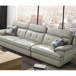 ZOUYOU 左右 DZY5016 真皮沙发 大三人位 2.78m