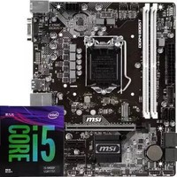 MSI 微星 B360M WIND主板+Intel 英特尔 i5 9400F 盒装CPU处理器 板U套装