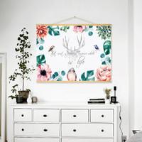 北欧风格装饰画卧室挂画墙画